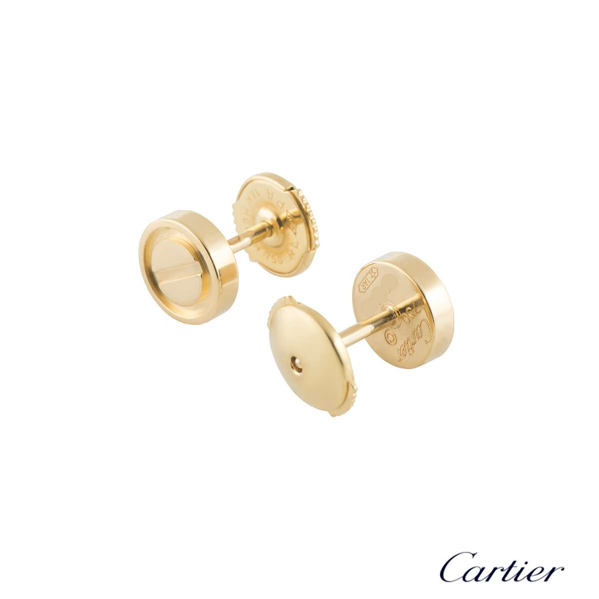 Cartier Love Yellow Gold Studs